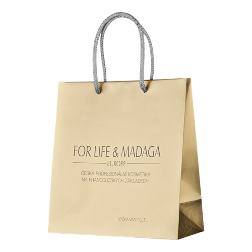 Image of LUXURY GIFT BAG - GOLD