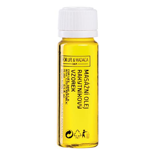 Obrázek z Masážní olej rakytníkový (hydrofilní) 15 ml, vzorek