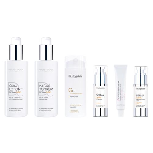 Bild Komplette Dermaclinic Pflegeserie für reife Haut OPTIMAL