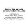 Image of Čisticí gel na ruce s dezinfekční přísadou 50ml - šroubovací uzávěr